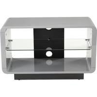 Alphason ADLU800-GRY Luna 800 Grey TV Stand