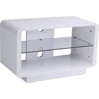 Alphason ADLU800-WHT Luna 800 White TV Stand