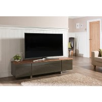 "Alphason ADR1800-WAL Regent TV Cabinet for up to 80"" TVs - Walnut"