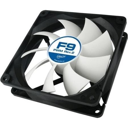 Arctic Cooling F9 PWM Rev. 2 Fan - 92mm