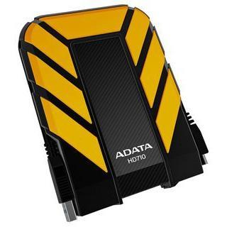 "A-DATA 2.5"" 500GB Waterproof/Shock-Resistant External USB 3.0 Portable Hard Drive - Yellow"