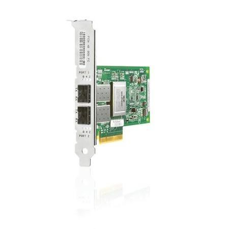 HP StorageWorks 82Q PCI-e Fibre Channel Host Bus Adapter Dual Port - network adapter - 2 ports