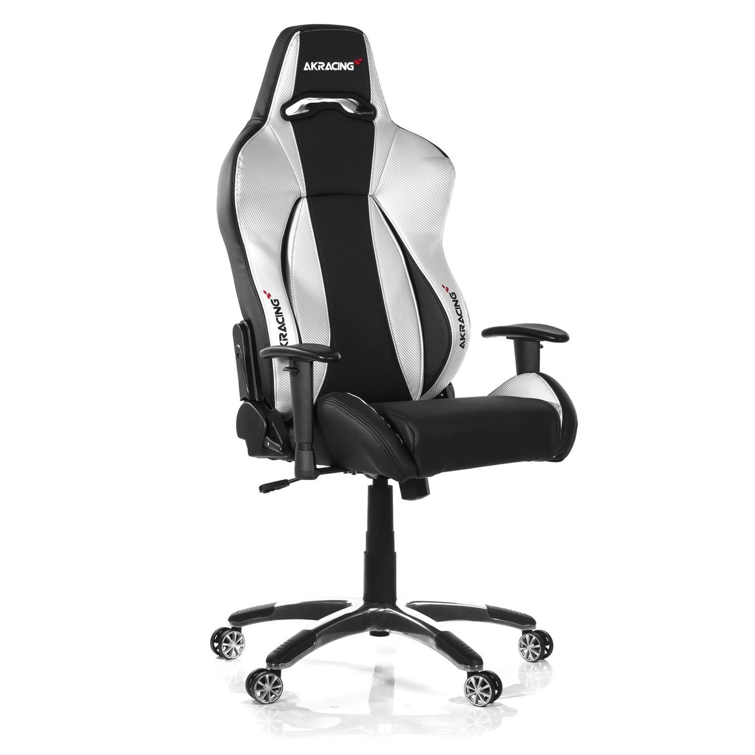 Prime Ak Racing K7002 Premium Gaming Chair Black Silver Machost Co Dining Chair Design Ideas Machostcouk