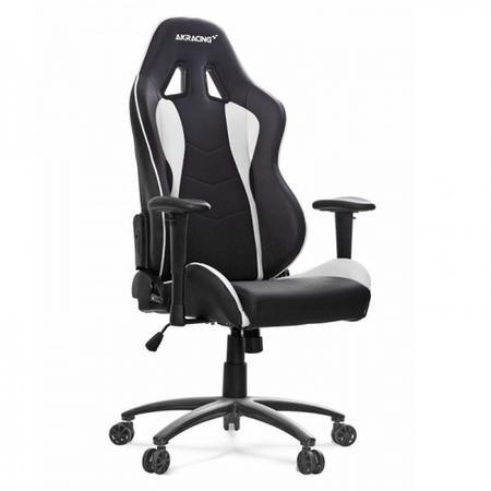 Wondrous Ak Racing Nitro Gaming Chair Black White Theyellowbook Wood Chair Design Ideas Theyellowbookinfo