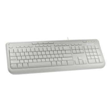 ANB-00026 Microsoft Wired Keyboard 600 White