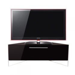 MDA Designs Antares High Gloss Corner TV Cabniet in Black up to 50 inch