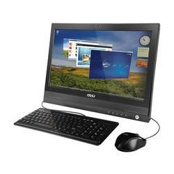 "MSI AP2000 20"" Single Touch Windows 7 Pro All In One PC"