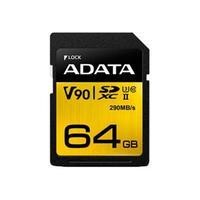 Adata 64GB SDXC + UHS-II U3 CLASS10 With Adapter