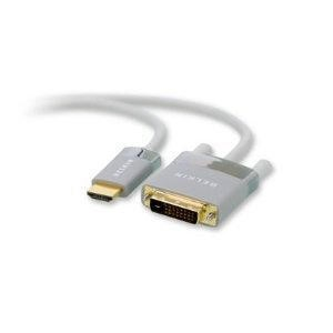 Belkin HDMI TO DVI-D CABLE WHITE