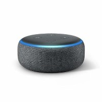 Amazon Echo Dot 3rd Gen - Smart speaker with Alexa - Charcoal Fabric