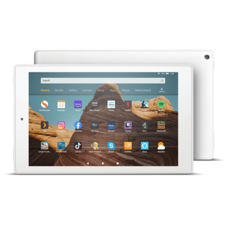 Amazon Fire 32GB 10.1 Inch HD Tablet - White