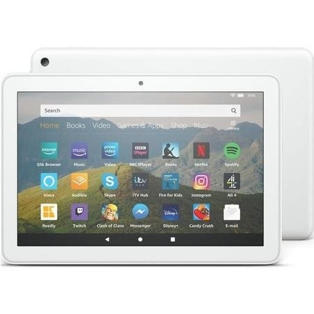 Amazon Fire HD 8 32GB 8 Inch Tablet - White