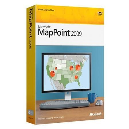 Microsoft® MapPoint® Win32 Single License/Software Assurance Pack OPEN No Level