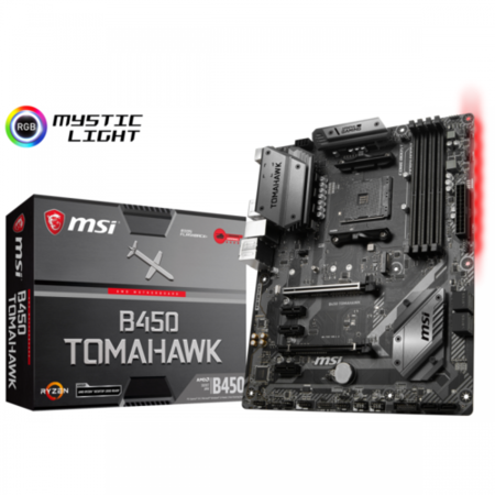 B450 TOMAHAWK SOCKET AM4 DDR4 ATX MOTHERBOARD