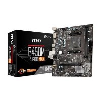 Ex Demo MSI B450M-A PRO MAX AMD Socket AM4 Motherboard