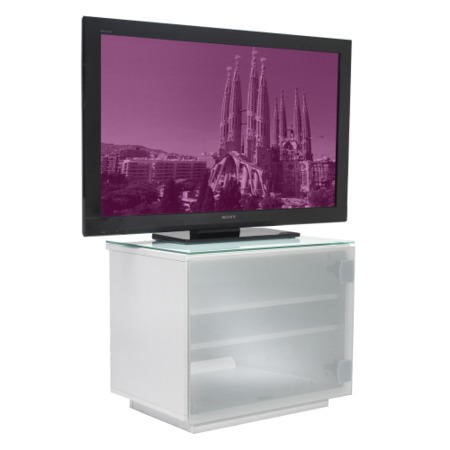 UK-CF Barcelona White TV Cabinet - Up to 42 Inch