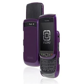 Feather for BlackBerry Torch 9800 - Glossy Metallic Purple