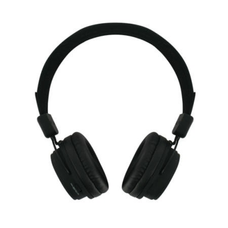 BeeWi GroundBee Bluetooth Stereo  Wired Headphones Black