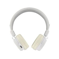 BeeWi GroundBee Bluetooth Stereo  Wired Headphones White