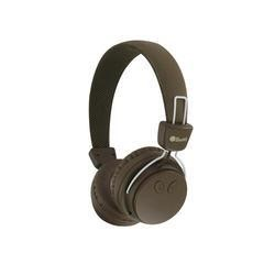 BeeWi GroundBee Bluetooth Stereo  Wired Headphones Brown