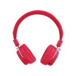 BeeWi GroundBee Bluetooth Stereo  Wired Headphones Pink