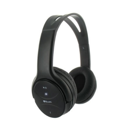 BeeWi Bluetooth Stereo Headphones with iPad 2 Holder