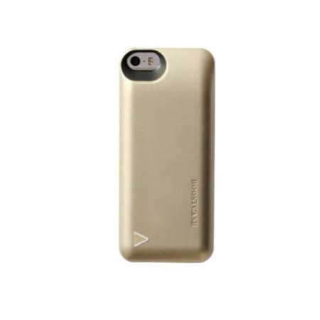 Boostcase Hybrid Power Case 1500MAH for iPhone 5/5s Champagne Gold