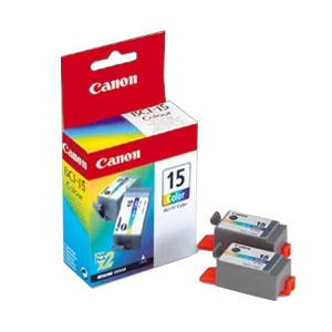 Canon Inkjet Cartridge BCI15C Colour Twinpack