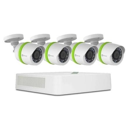 BD-2824B1 EZVIZ CCTV System - 8 Channel 1080p DVR with 4 x 1080p Cameras with 30m Night Vision & 1TB HDD