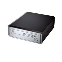 Hewlett Packard External Blu-Ray Disc/DVD/CD Writer 12x USB 3.0 2Yr warranty