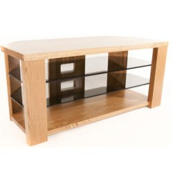 Optimum BENCH 1200 Solid Oak TV Stand - Up to 55 inch
