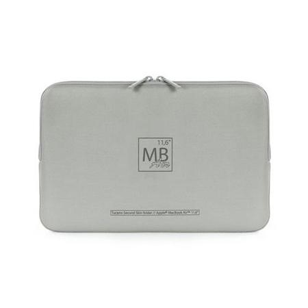 "Tucano Elements Second Skin Special Edition for 11"" MacBookAir /Ultrabook - Silver"