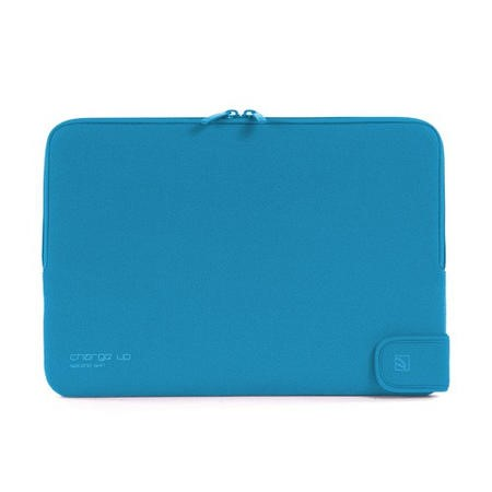 "Tucano Second Skin Folder New Charge_Up for MacBook 13"" - Blue"