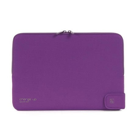 "Tucano Second Skin Folder New Charge_Up for MacBook 13"" - Purple"