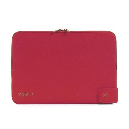 "Tucano Second Skin Folder New Charge_Up for MacBook 13"" - Red"