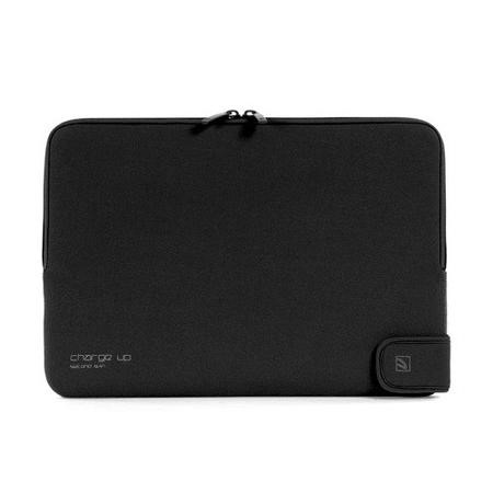 "Tucano Second Skin Folder New Charge_Up for MacBook 13"" - Black"