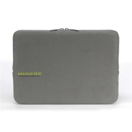 "Tucano Second Skin Microfiber Script for 13"" MacBook/Ultrabook - Grey"