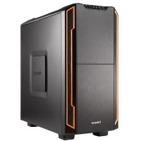 Be Quiet! Silent Base 600 Mid Tower Gaming Case in Black/Orange