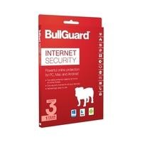 BullGuard Internet Security 2017 - 12 Month Subscription - 3 Devices