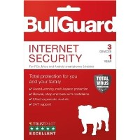 Bullguard Internet Security 1 Year 3 Device Multi Device Retail License English