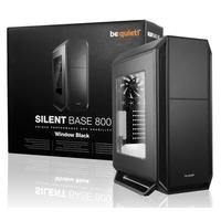 Be Quiet! Silent Base 800 Mid Tower Gaming Case with Window in Black