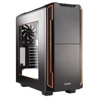 Be Quiet! Silent Base 600 ATX Gaming Case with Window in Black/Orange