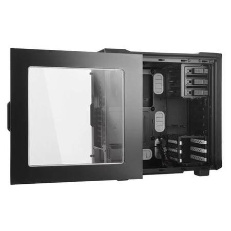 Be Quiet! Silent Base 600 Gaming Case with Window, ATX, No PSU, Tool-less, 2 x Pure Wings 2 Fans, Si