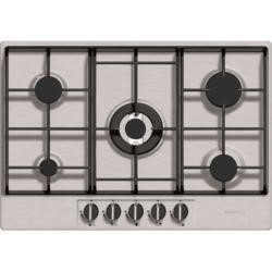 Baumatic BHG720SS Five Burner 70cm Wide Gas Hob - Stainless Steel