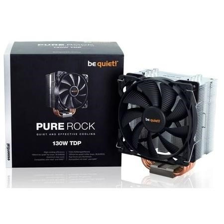 BK009 Be Quiet! Pure Rock Compact Intel/AMD CPU Air Cooler - 120mm Fan