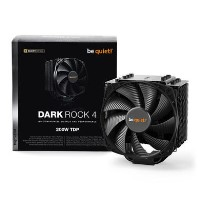 Be Quiet! BK021 Dark Rock 4 Heatsink & Fan Intel & AMD Sockets Silent Wings Fan Fluid Dynamic