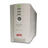 APC Back-UPS CS 500 - UPS - 300 Watt - 500 VA