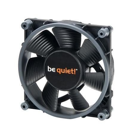 Be Quiet! BL024 Shadow Wings 8cm PWM Case Fan Rifle Bearing Black Screwless Ultra Quiet