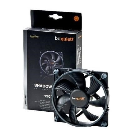 Be Quiet Silent Wings 3 x 120mm PWM Case Fan Black Fluid-dynamic Bearing