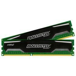 Crucial Ballistix Sport 16GB Kit 2 x 8GB DDR3-1600 UDIMM 1.5v Unbuffered Memory